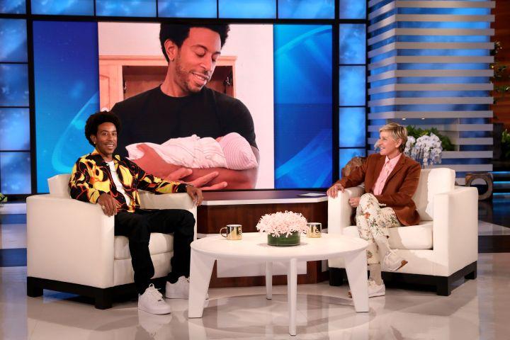 Ludacris, Ellen DeGeneres. Credit: Michael Rozman/Warner Bros.