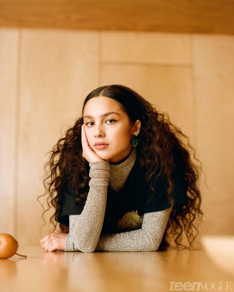 Olivia Rodrigo. Photo: Teen Vogue/Josefina Santos