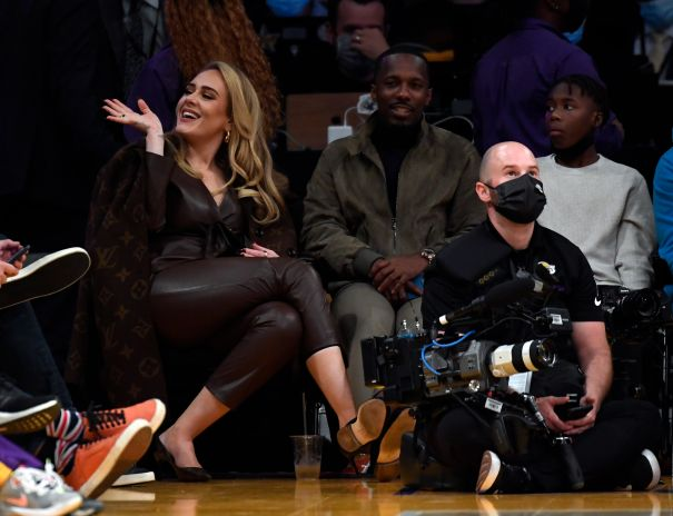 Adele And Rich Paul Enjoy Date Night