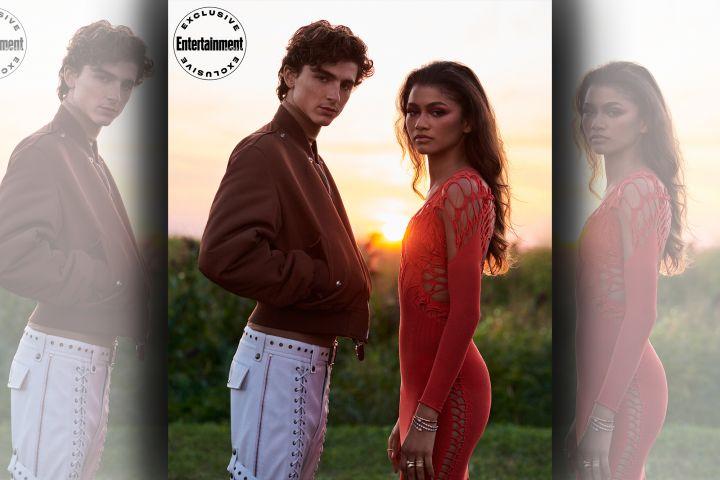 Timothée Chalamet and Zendaya