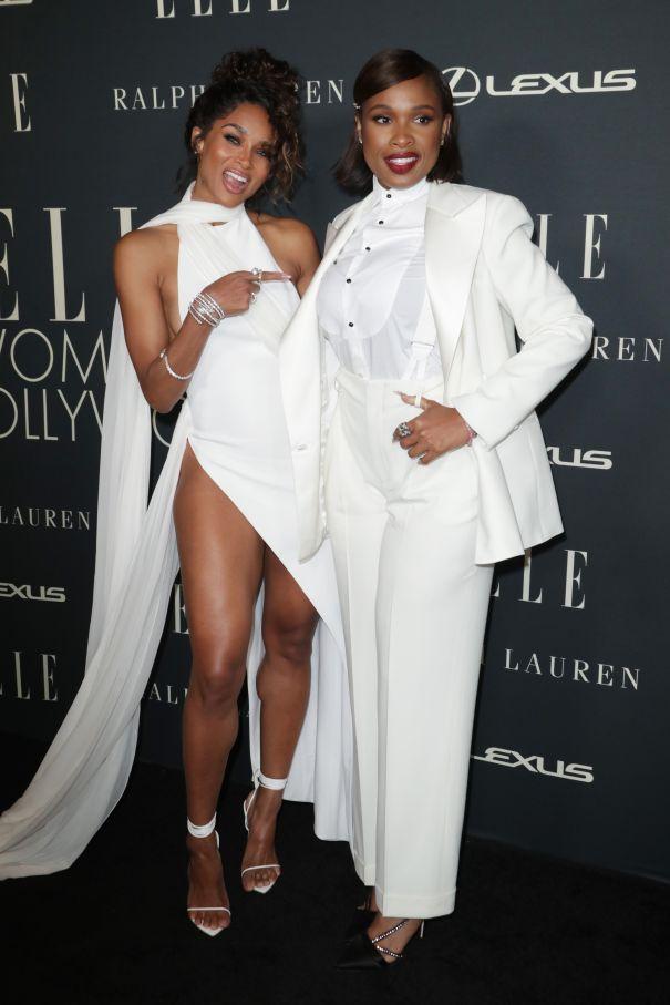 Ciara And Jennifer Hudson Strike A Pose