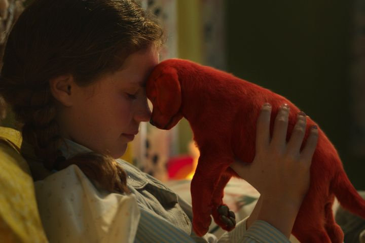 """Darby Camp stars in """"Clifford the Big Red Dog"""""""
