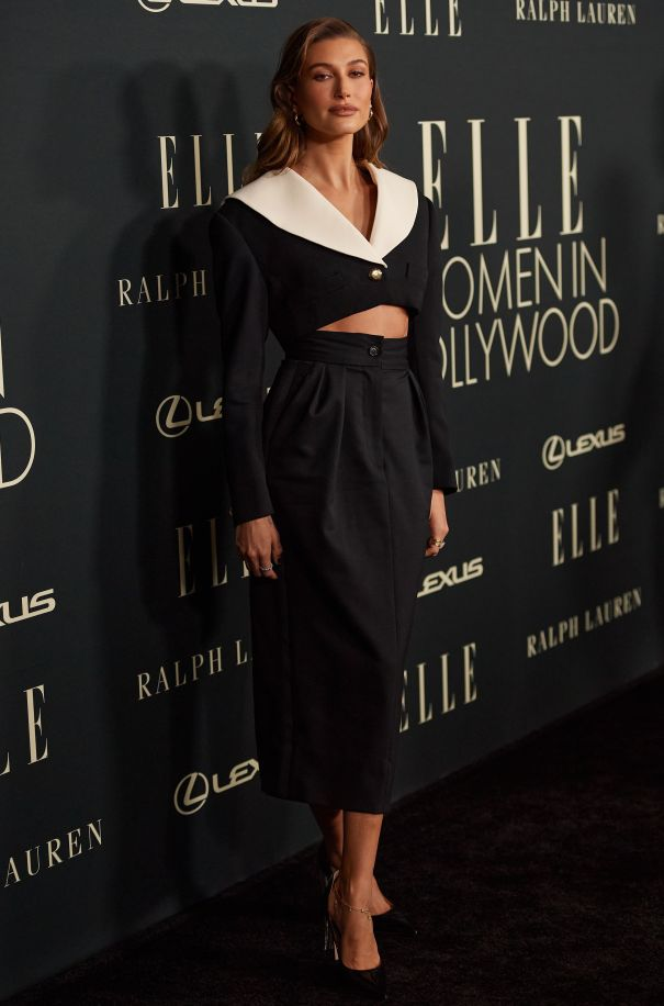 Hailey Bieber Smoulders At 'Women In Hollywood' Event