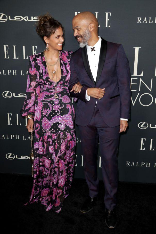Halle Berry And Van Hunt Look Loved-Up