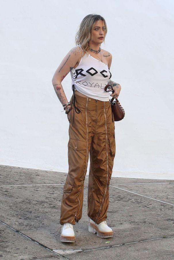Paris Jackson At Paris Fashion Week