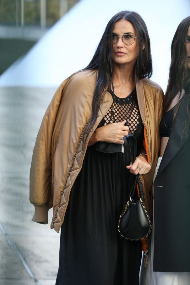 Demi Moore At The Stella McCartney Show