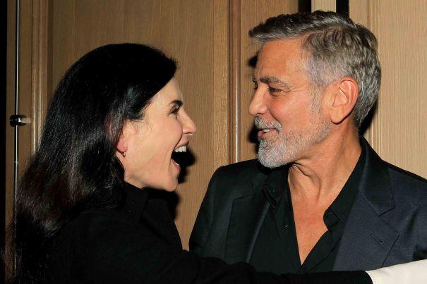 'ER' Co-Stars George Clooney, Julianna Margulies Reunite