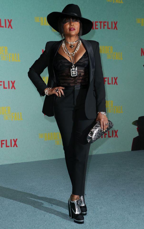 Taraji P. Henson Is Dressed To Kill