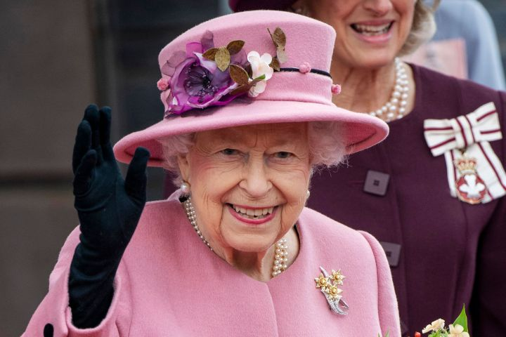 Queen Elizabeth II Opening Ceremony of the Sixth Session of the Senedd.