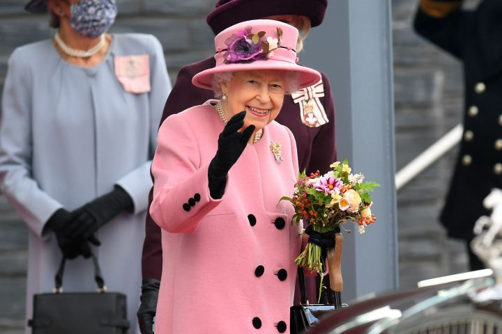 Queen Elizabeth II Opening Ceremony of the Sixth Session of the Senedd