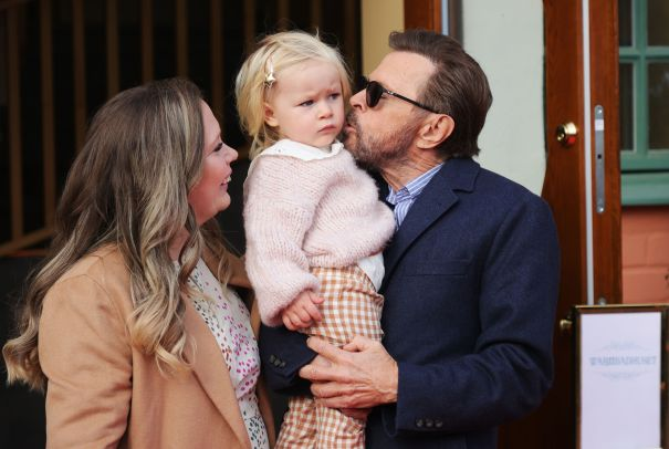 ABBA's Björn Ulvaeus With His Granddaughter