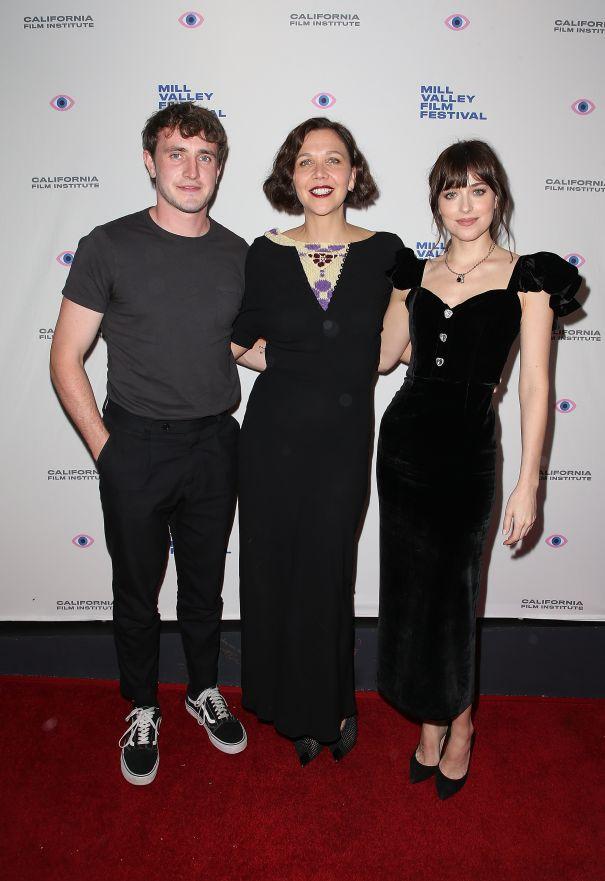 Paul, Maggie & Dakota Team Up For Premiere