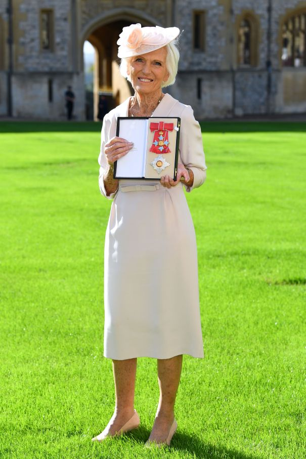 Mary Berry Earns Dame Title