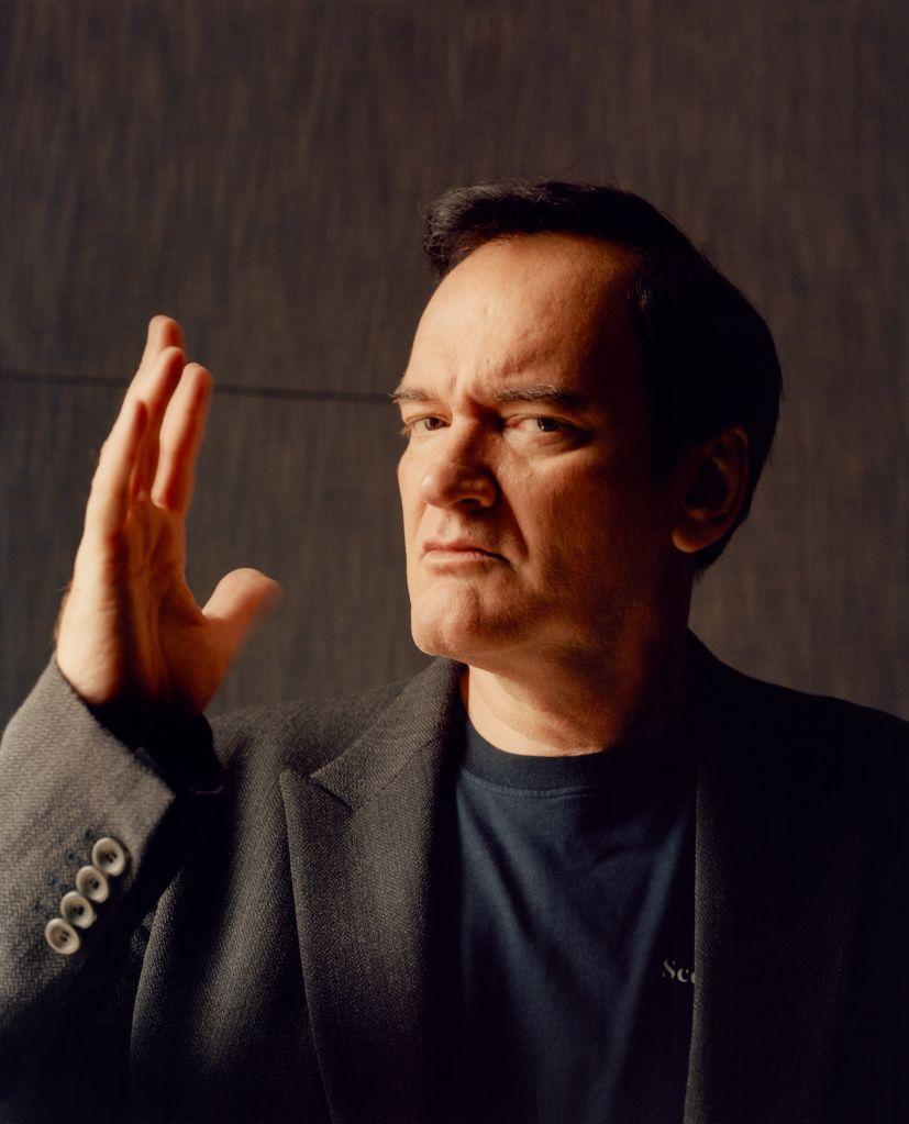 Quentin Tarantino. Photographed by Jamie Hawksworth